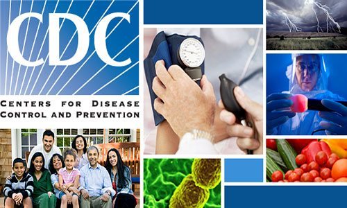 Trang web Centers for Disease Control and Prevention